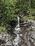 small waterfall at lake Strindvatnet