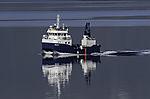 Fischfarm Versorgungsschiff
