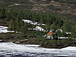 ice in summer on Korgfjell
