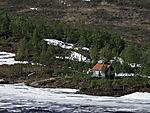 Eis im Sommer auf Korgfjell