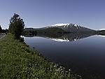 Bergspiegelung im Ömmervatnet