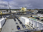 carss in ferry terminal Larvik