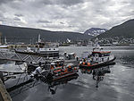 SAR boat Gideon in Tromso harbour