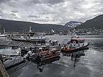 Rettungsboot Gideon am Liegeplatz in Tromsö