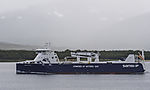 freighter Kvitnos powered by natural gas