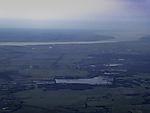 Windpark und Moor bei Lägerdorf aus der Luft