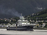 research vessel G.O. Sars on Tromso