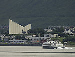 Hurtigboot Fjorddronningen in Tromsö