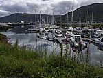 Sportboothafen in Tromsö