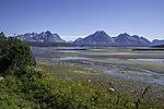 Lyngen Alps at Ullsfjorden
