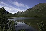 lake Nakkevatnet in Nakkedalen