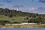 lighthouse Dornbusch on island Hiddensee