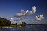 coast of island Hiddensee at Vitter Bodden