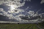 Sonne und Wolken bei Klausdorf