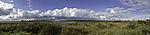 Quellwolken über Insel Bock Panorama