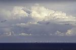Wolken über Windpark Arkona