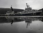 viel Regen in Tromsö