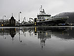 Forschungsschiff G O Sars in Tromsö