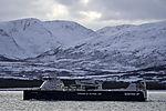 LNG powered ferry freighter Kvitbjörn