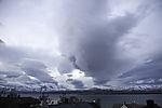 Sturmwolken bei Tromsö