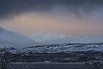 Schneemorgen über Trolltinden