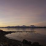 dawn in autumn in Tromso