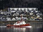 towboat Lupus in Tromso