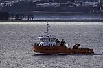 Ölreinigungsschiff bei Tromsö