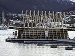 sauna in Tromso harbour
