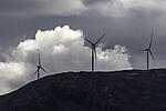 windmills on island Kvalöya
