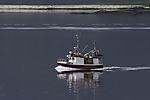 Fischerboot nahe Tromsö