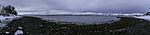 Herbstmorgen bei Tromsö Panorama