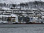 trawler in Tromso harbour