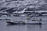 fully laden trawler