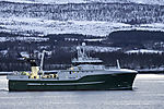 Trawler Senja im Sandnessund