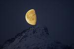 Mond auf Store Blaamannen