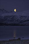 Mond und Meerespaddler