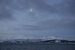 Mond über Kvalöya