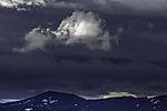 Wolken über Graatinden