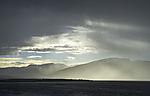 Regenwetter über Kvalöya