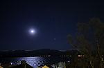 Mond und Mars über Kvalöya