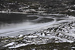 ice on lake Storvatnet