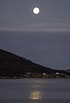 Vollmond am Grötfjorden