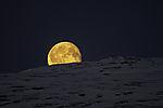 Monduntergang hinter Kvalöya