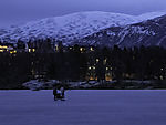 ice on lake Prestvannet