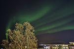 aurora over Tromso