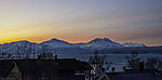 dawn over mountains of Malangen