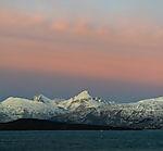 dawn over island Kvalöya