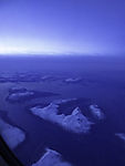 islands in northern Norway in polar night