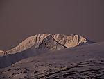 Polarmorgen auf Mjeldskardtinden und Nattmaalstuva